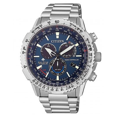 Citizen CB5010-81L Promaster Sky Eco-Drive Men's Radio-Controlled Watch Titani 4974374280060