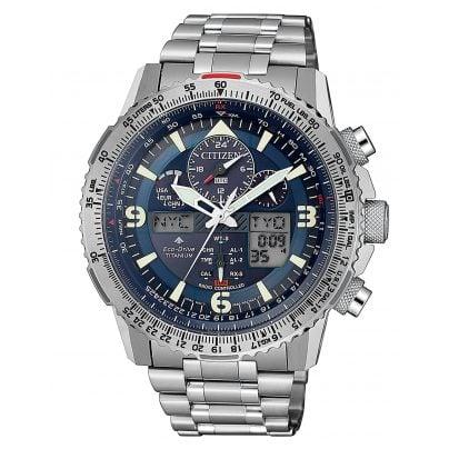 Citizen JY8100-80L Promaster Sky Herren-Funkuhr Eco-Drive Titan 4974374291523