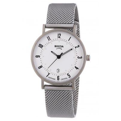 Boccia 3296-02 Titanium Ladies Watch 4040066249162