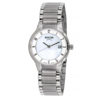 Boccia 3301-01 Titanium Damen-Armbanduhr 4040066251127
