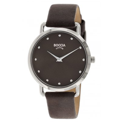 Boccia 3314-04 Titan-Armbanduhr für Damen 4040066256665