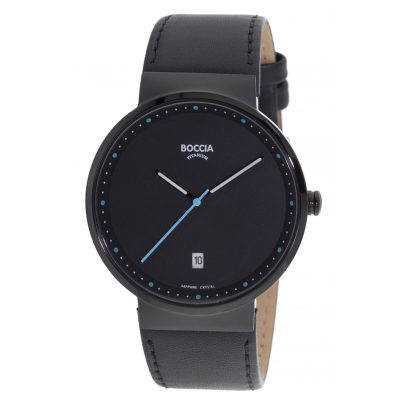 Boccia 3615-04 Titan-Armbanduhr mit Saphirglas 4040066248684