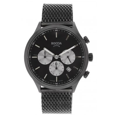 Boccia 3750-06 Men's Watch Chronograph Titanium 4040066254500