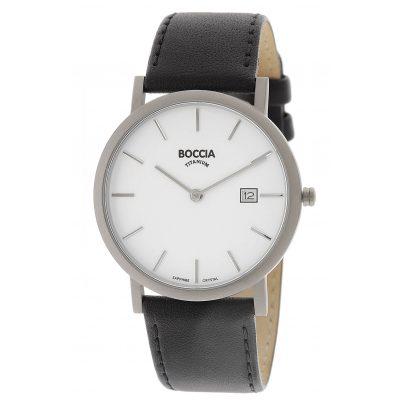 Boccia 3637-02 Titan-Armbanduhr für Herren 4040066256306