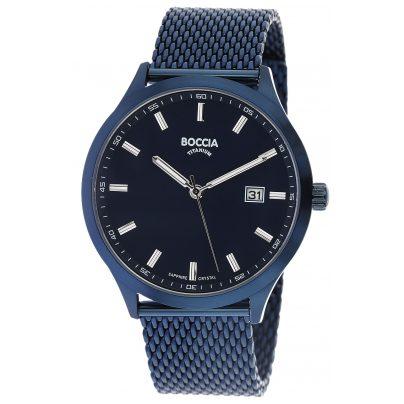 Boccia 3614-05 Titan-Herrenuhr mit Saphirglas 4040066256849