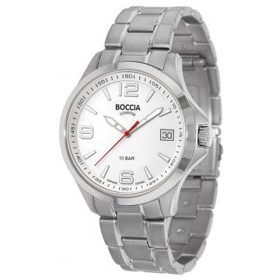Boccia 3591-06 Titan Herren-Armbanduhr mit Saphirglas 4040066260730