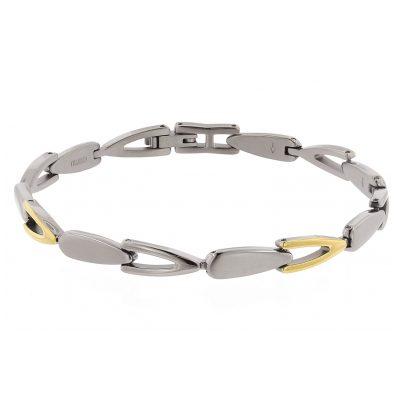 Boccia 03033-02 Titan Damen-Armband Bicolor gold 4040066259369