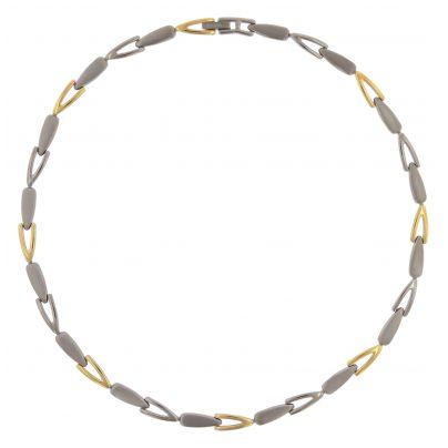 Boccia 08039-02 Titan Damen-Halskette Bicolor gold 4040066259260