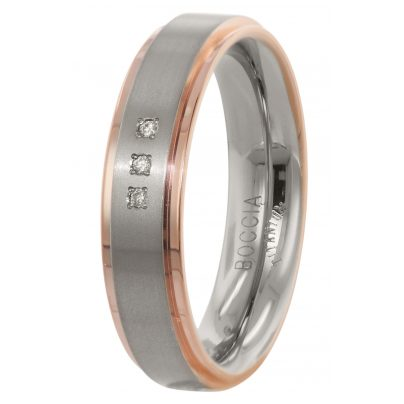 Boccia 0134-02 Damen-Ring Titan