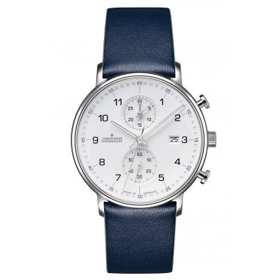 Junghans 041/4775.00 Herrenuhr Chronoscope Form C 4000897390730