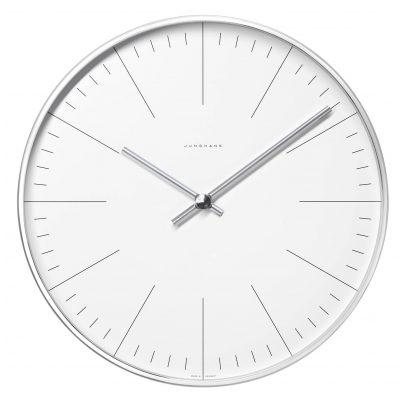 Junghans 374/7000.00 max bill Radio-Controlled Wall Clock 4000897366285