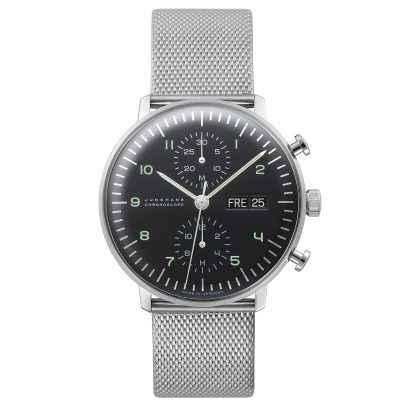 Junghans 027/4500.44 max bill Chronoscope Herrenuhr 4000897390075