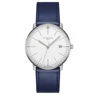 Junghans 058/4822.00 max bill Mega Radio Controlled Watch 4000897391454