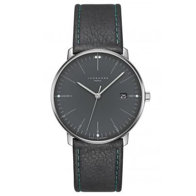 Junghans 058/4823.00 max bill Mega Radio Controlled Watch 4000897391461