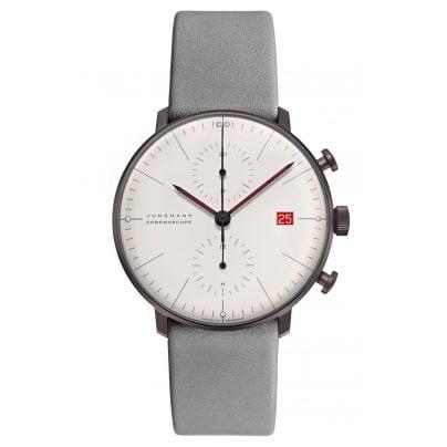 Junghans 027/4902.02 max bill Chronoscope Watch Edition Bauhaus 2019 4000897392505