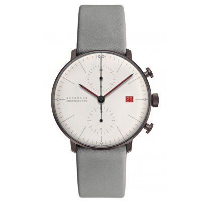Junghans 027/4902.02 max bill Chronoscope Armbanduhr Edition Bauhaus 2019 4000897392505