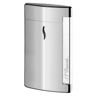 S.T. Dupont 010502 Minijet Lighter Silver 3597390235237