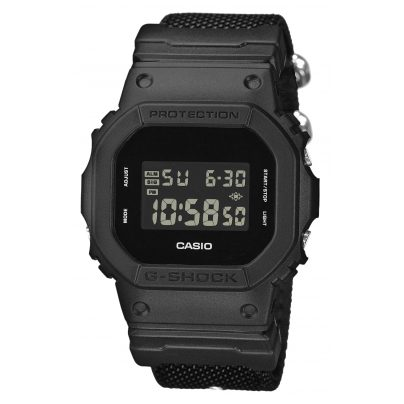 Casio DW-5600BBN-1ER G-Shock Digitaluhr Schwarz 4549526142055