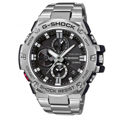 Casio GST-B100D-1AER G-Shock G-Steel Bluetooth Solar Herrenuhr 4549526168222