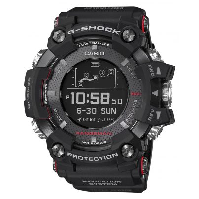 Casio GPR-B1000-1ER G-Shock Rangeman Mens Watch Bluetooth GPS Navigation 4549526185816