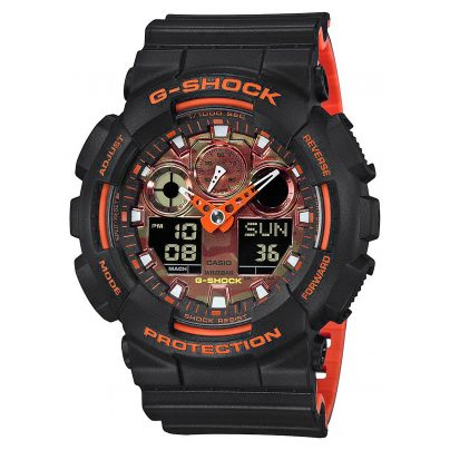 Casio GA-100BR-1AER G-Shock Men´s Wristwatch 4549526211379