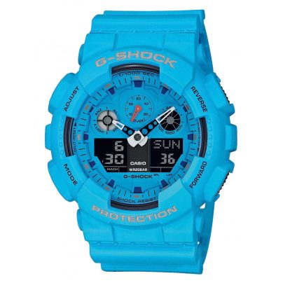Casio GA-100RS-2AER G-Shock Men´s Wristwatch 4549526223167