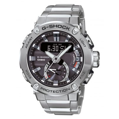 Casio GST-B200D-1AER G-Shock G-Steel Solar Men's Wristwatch with Bluetooth 4549526223068