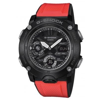 Casio GA-2000E-4ER G-Shock Men´s Watch with 2 Extra Straps 4549526219535