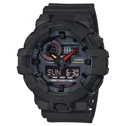 Casio GA-700BMC-1AER G-Shock Ana-Digi Men's Watch Black x Neon 4549526241246