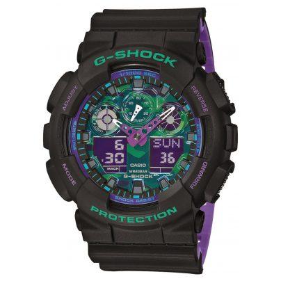 Casio GA-100BL-1AER G-Shock Herren-Armbanduhr 4549526221125