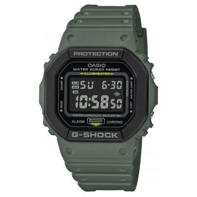 Casio DW-5610SU-3ER G-Shock The Origin Digital Watch Olive-Green 4549526257551