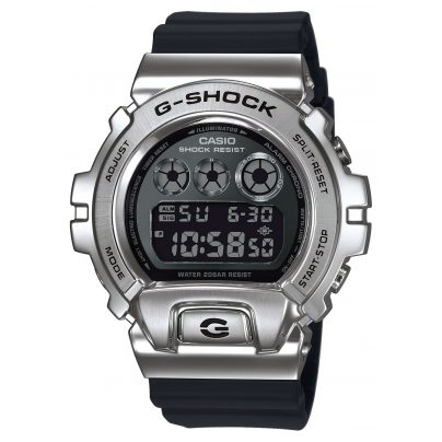 Casio GM-6900-1ER G-Shock Classic Digital Herrenuhr Silber/Schwarz 4549526252150