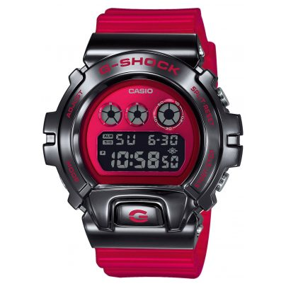 Casio GM-6900B-4ER G-Shock Classic Men's Digital Watch Red/Black 4549526251306