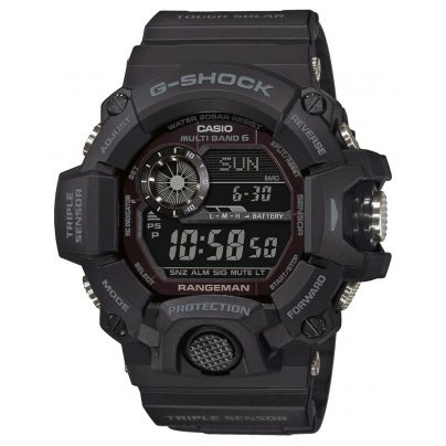 Casio GW-9400-1BER G-Shock Rangeman Digital RC Solar Men's Watch Black 4549526252211