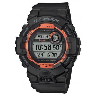 Casio GBD-800SF-1ER G-Shock G-Squad Bluetooth Herrenuhr schwarz / orange 4549526257858