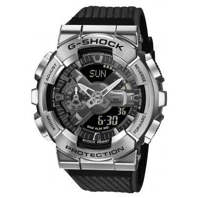 Casio GM-110-1AER G-Shock Classic Herrenuhr Stahl/Schwarz 4549526279973