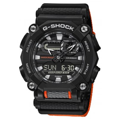 Casio GA-900C-1A4ER G-Shock Herrenuhr Schwarz/Orange 4549526274251