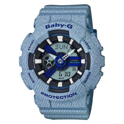 Casio BA-110DE-2A2ER Baby-G Ladies Watch AnaDigi 4549526162510
