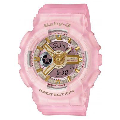 Casio BA-110SC-4AER Baby-G Urban Damen-Armbanduhr Rosa 4549526270925