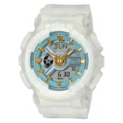 Casio BA-110SC-7AER Baby-G Urban Damenuhr Weiß 4549526270970
