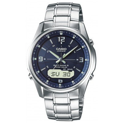 Casio LCW-M100DSE-2AER Gents Solar Radio Watch 4971850925460