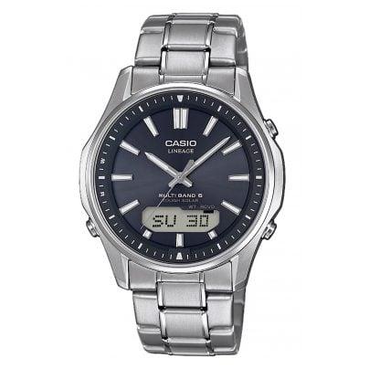Casio LCW-M100TSE-1AER Men´s Watch Radio-Controlled Solar Titanium 4549526207877