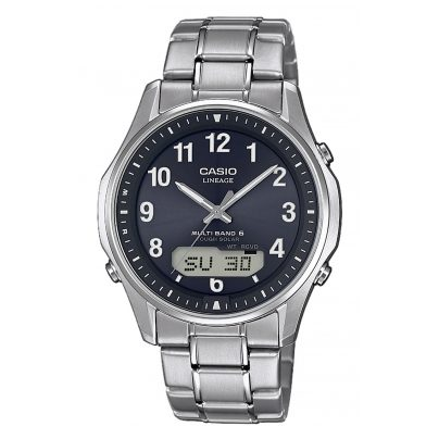 Casio LCW-M100TSE-1A2ER Radio-Controlled Solar Men´s Watch Titanium 4549526207853