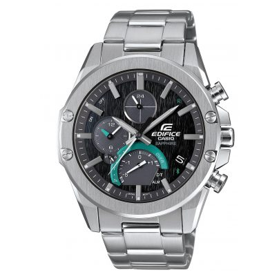 Casio EQB-1000D-1AER Edifice Chronograph Men's Watch Bluetooth Super Slim 4549526245237