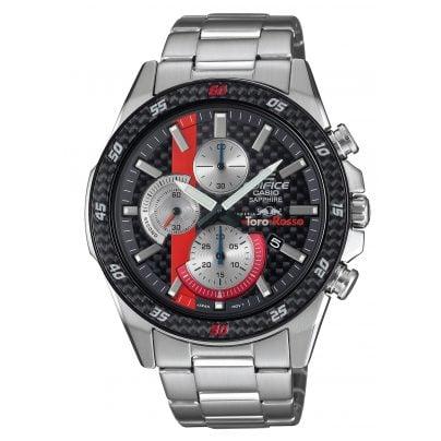 Casio EFR-S567TR-2AER Edifice Herrenuhr Chronograph Scuderia Toro Rosso 4549526245602