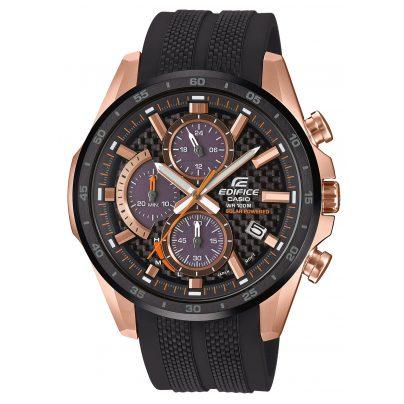 Casio EQS-900PB-1AVUEF Edifice Herren-Chronograph Solar 4549526224843