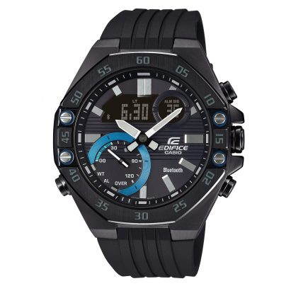 Casio ECB-10PB-1AEF Edifice Men's Watch with Bluetooth Black 4549526252785