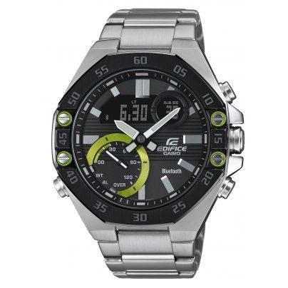 Casio ECB-10DB-1AEF Edifice Men's Watch with Bluetooth Black 4549526252693