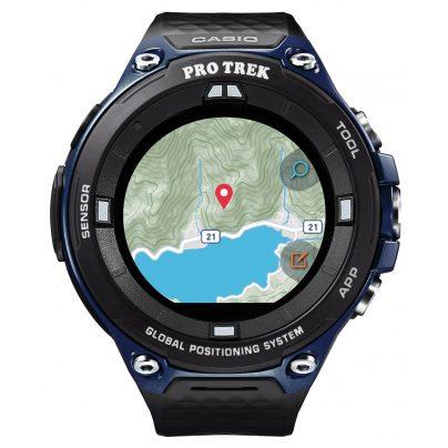 Casio WSD-F20A-BUAAE Pro Trek Smart Outdoor Uhr GPS Blau/Schwarz 4549526850417