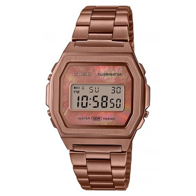Casio A1000RG-5EF Vintage Iconic Ladies Watch 4549526245138